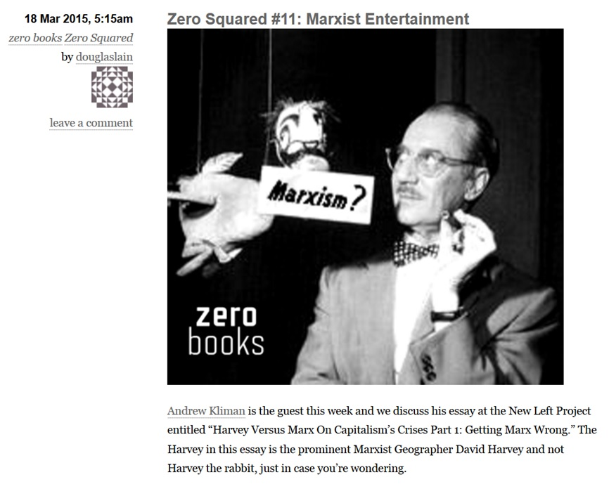 Marxist entertainment
