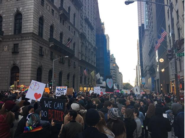 ant-Trump protest 1