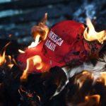 burning-MAGA-hat-150×150