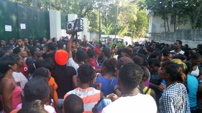 Haiti-strike