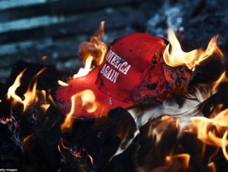 burning-MAGA-hat-326×245