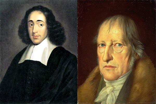 Baruch Spinoza and G. W. F. Hegel