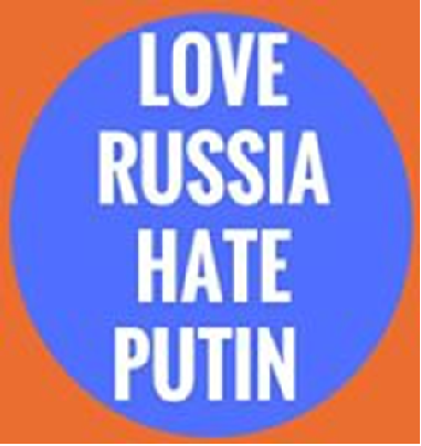 Love Russia, hate Putin