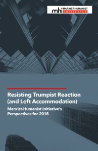 cover of 2018 Perspectives, _Resisting Trumpist Reaction (and Left Accommodation)_