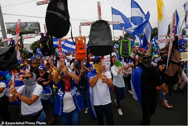 Managua demanding ouster of President Saniel Ortega