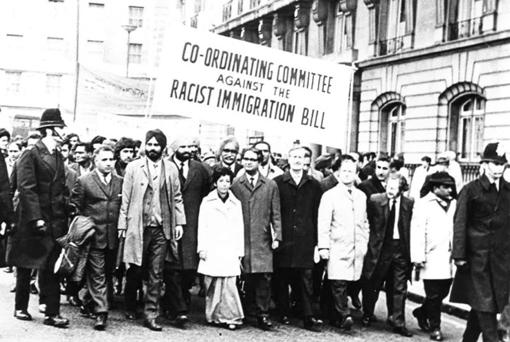 immigration protest pic, 1960s, WSS Brexit article